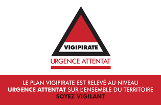 Plan Vigipirate « urgence attentat »